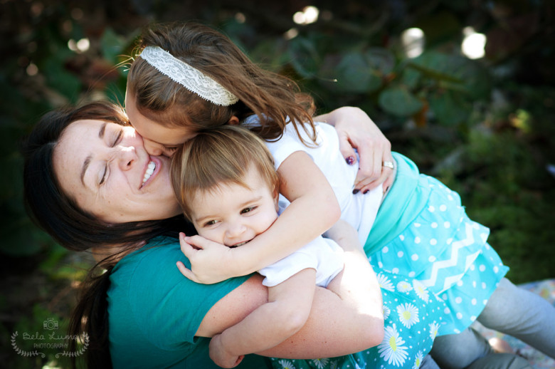 Family portrait session in Eau Gallie, FL - 2/13