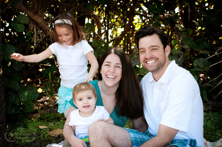 Family portrait session in Eau Gallie, FL - 4/13