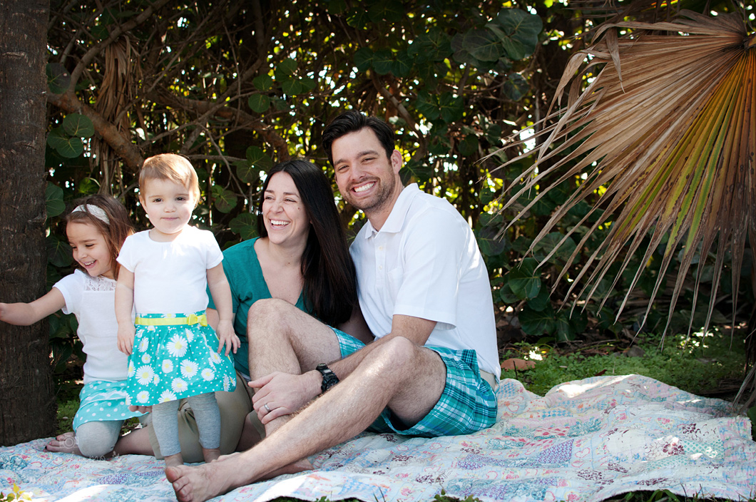 Family portrait session in Eau Gallie, FL - 5/13