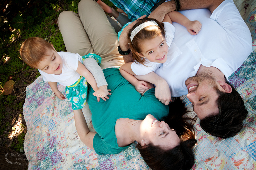 Family portrait session in Eau Gallie, FL - 7/13